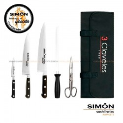 "SIMÓN ""Chef"" Chef´s Knives Set 6 pcs CHEF2"