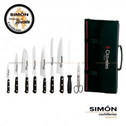 "SIMÓN ""Chef"" Chef´s Knives Set 10 pcs CHEF1"
