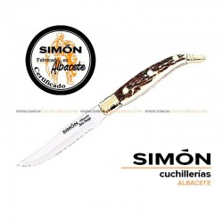 "SIMÓN ""Navaja"" Deer Serrated Steak Knife 123.062"