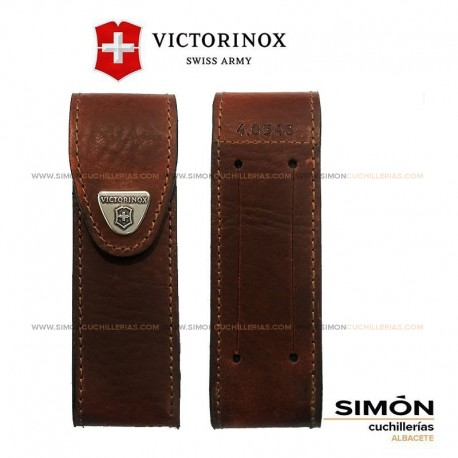 """Victorinox """"Large"""" Leather Folding Knife Pouch 4.0548 039.334"""