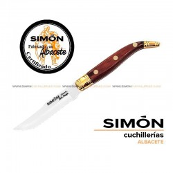 "SIMÓN ""Navaja"" Wood Serrated Steak Knife 123.043"