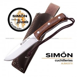 Joker CN125 CN125-P Nomad Walnut BUSHCRAFT Knife 075.202 075.218