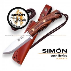 Joker CN122 CN122-P Ember Scandi Walnut BUSHCRAFT Knife 075.174 075.175