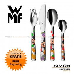 """WMF """"Mickey Mouse"""" Children´s Cutlery 4p 051.311"""