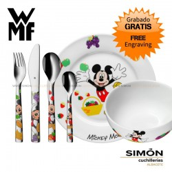 """WMF """"Mickey Mouse"""" Children´s Cutlery 6p 051.337"""