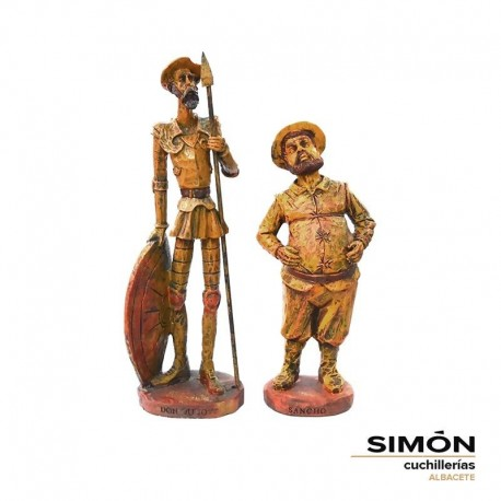Simón Resin Quijote and Sancho