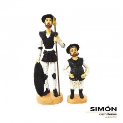 Simón Colored Quijote and Sancho