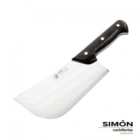 Simón Forged MOVA stainless steel and non-slip handle Chef Kitchen Cleaver