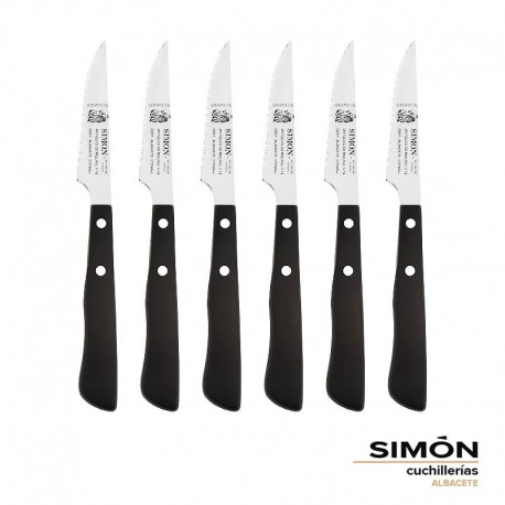 "Simón ""Albacete"" POM Steak Serrated Knives Set 005.261"