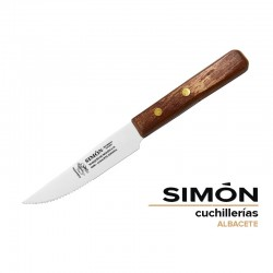 "Simón ""Mancha"" Wood Steak Serrated Knife"