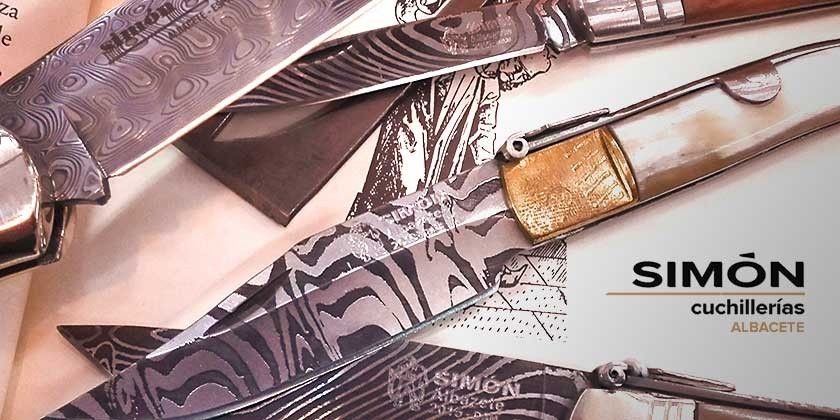The Albacete´s Damascus classic knives